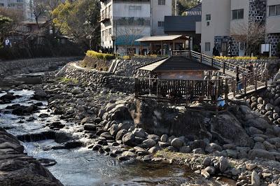 修善寺の河原湯